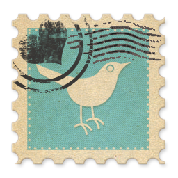 twitter icon stamp