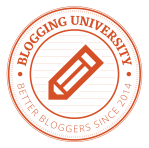 Blogging University logo #blogging201