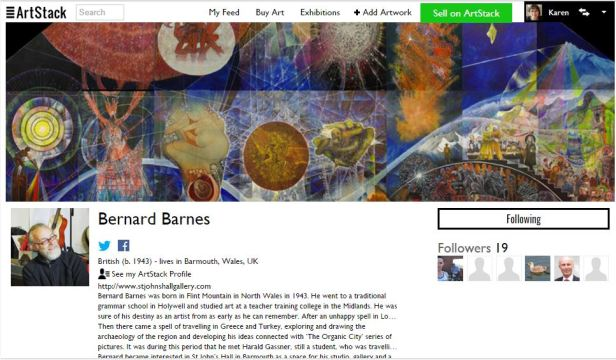 Bernard Barnes on Art Stack