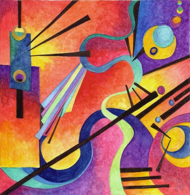 """Kandinsky Inspired 3"" by Artwyrd https://artwyrd.deviantart.com/art/Kandinsky-Inspired-3-116802909"